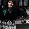 Logo La cantora chilena Carla Giannini visita Academia del Folklore (Nacional Folklórica)