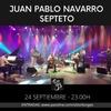Logo Claudio Parisi anuncia el concierto de Juan Pablo Navarro Septeto en Borges 1975 (24/09 - 23 h)