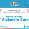 Logo Vuelven los cursos de oficio en el Centro Vecinal del Barrio Alejandro Carbó