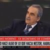 Logo Guillermo Moreno en Minutos contados 16/09/20