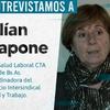 Logo Entrevista a Lilian Capone (Enfoque Radio)