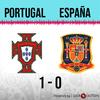 Logo Gol de Portugal: Portugal 1 - España 0 - Relato de @oriental770