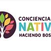 """Logo """"A Reforestar las Sierras, a Colaborar Creando Conciencia y Recursos"""""""