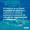 Logo El GCBA incumplió los acuerdos y avanza en un censo de población en situación de calle sin las ong