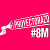 Logo Proyectorazo: nos paramos, nos proyectamos