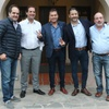 Logo #NoticiasMegafón @smaggiotti @muni_navarro – Reunión #Intendentes de #1RaSección x #Elecciones