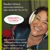 Logo Entrevista a Alejandra Rossi en programa Sensaciones, Radio Unica