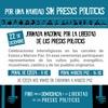 """Logo PMET @DiputadaSanchez """"Este Gobierno tapa las medidas contra el pueblo con detenciones a opositores"""""""