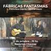 Logo Victor Hugo Morales nos invita a FABRICAS FANTASMAS de Francisca Capria Chirico