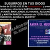 Logo SUSURROS EN TUS OIDOS PROGRAMA 599 27 OCT 20 ENTREVISTA A GABY BLANCO y EQUIPO POR AHORA EL MUERTO