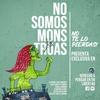 """Logo """"No somos monstruas"""" un libro que recopila vivencias de mujeres privadas de su libertad"""