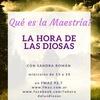 Logo PROGRAMA 116 LA HORA DE LAS DIOSAS: CONTINUAMOS HABLANDO DE LA MAESTRÍA