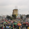 Logo Colombia a un mes del estallido histórico