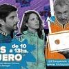 """Logo Marcelo Aliverti en """"Todos en Cuero en Paternal"""" FM La Patriada"""