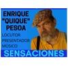 Logo #SensacionPersonal con Quique Pesoa