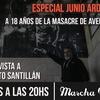 Logo Junio Arde Rojo: entrevista con Alberto Santillán
