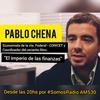 """Logo Pablo Chena, """"El libro plantea la importancia de recuperar el poder fiscal""""."""