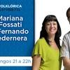 Logo Domingo Negro con Mariana Fossati y Fernando Pedernera
