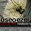 Logo Museo ezeiza. Instalación teatral