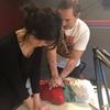 Logo Reanimación cardiopulmonar con @SitreEnfermeria