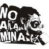 """Logo """"Sea radical, sea peronista, todos quieren megaminería"""""""
