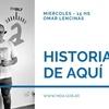 Logo Historias De Aquí con Omar Lencinas estuvimos Javier Chalup por Radio a