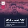 """Logo Ramiro Abrevaya con Tweety González y Andrés Casak en """"Música en el CCK"""" por Nacional Rock"""