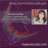 Logo #LaColumnadeLasBrujas por Vanina Cortijo en Ruano al Mediodía. Cierre de año