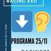 Logo Programa completo 25 de noviembre RACING22