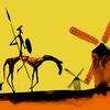 """Logo """"El amor imposible no es cosa de prudentes, sino de Quijotes"""""""