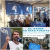 """Logo #ElAmorEsMasFuerte.dialogamos con Daniel """"Tano"""" Catalano, secretario general de ATE."""