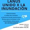 Logo #Lanus vecinxs realizarán un festival solidario para ayudar a lxs #inundados @radiounla