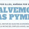 Logo Juan Pablo Pararadelo de Salvemos las Pymes