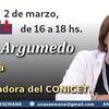 Logo Com. Alcira Argumedo, Socióloga