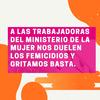 Logo Trabajadoras del Ministerio de la Mujer Denuncian Precarización Laboral y Falta de Personal