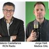 Logo Día Mundial de la Radio: Indalecio Castellanos y Jorge Heili hablan de la radio hoy y mañana