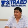 Logo Gerardo Carranza, titular de SITRAED- CEA, docentes de Chubut