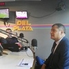 """Logo """"Entrevista a Rafael Correa en Siempre es hoy, Radio del Plata"""""""