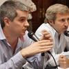 Logo Marcos Peña y Rogelio Frigerio defienden a los empresarios y justifican precios de alimentos