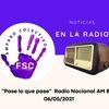 Logo Familias por la salud en Radio Nacional con Darío Villarroel