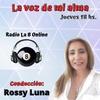 Logo La Voz De Mi Alma - Entrevista a Graciela Safon de Santa Rosa Calamuchita