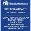 Logo Narcóticos Anónimos, programa espiritual que funciona