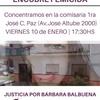 Logo JUSTICIA POR BARBARA BALBUENA