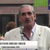 logo Nota con Gustavo Breide Obey participante de los levantamientos carapintadas