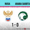 Logo Gol de Rusia: Rusia 1 - Arabia Saudita 0 - Relato de @970universal