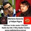 Logo Fuera de Agenda con Mariano Saravia y Felipe Pigna - Viernes 14 de Junio del 2019 -