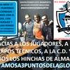Logo ESPERANDO UNO DE LOS PARTIDOS MAS IMPORTANTES DE LA VIDA DEL CLUB HABLAMOS CON ROMEO, EL KEKI Y WALL