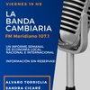 Logo #LaBandaCambiaria #AlvaroTorriglia #SandraCicaré #PrimerBloque 8/11 #LBC