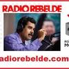 Logo El Presidente @NicolasMaduro habla para la radio Argentina Rebelde AM740. @rompermoldes