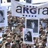 Logo Desalojan con la gendarmería a trabajadores de ARGRA